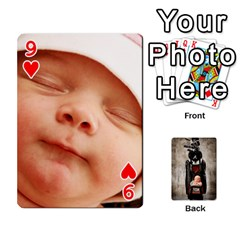 Camcards By Valeriemarie   Playing Cards 54 Designs   Qsypqp2ltu8w   Www Artscow Com Front - Heart9