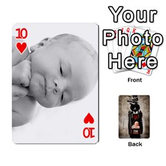 Camcards By Valeriemarie   Playing Cards 54 Designs   Qsypqp2ltu8w   Www Artscow Com Front - Heart10