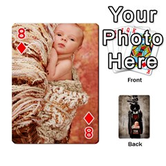 Camcards By Valeriemarie   Playing Cards 54 Designs   Qsypqp2ltu8w   Www Artscow Com Front - Diamond8