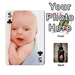 Camcards By Valeriemarie   Playing Cards 54 Designs   Qsypqp2ltu8w   Www Artscow Com Front - Club5