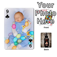 Camcards By Valeriemarie   Playing Cards 54 Designs   Qsypqp2ltu8w   Www Artscow Com Front - Club9