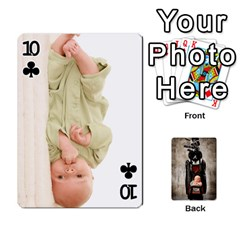 Camcards By Valeriemarie   Playing Cards 54 Designs   Qsypqp2ltu8w   Www Artscow Com Front - Club10