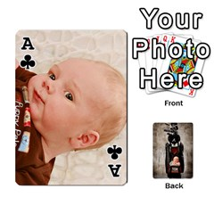 Ace Camcards By Valeriemarie   Playing Cards 54 Designs   Qsypqp2ltu8w   Www Artscow Com Front - ClubA