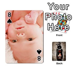 Camcards By Valeriemarie   Playing Cards 54 Designs   Qsypqp2ltu8w   Www Artscow Com Front - Spade8