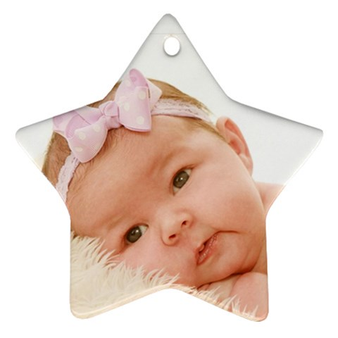 Star By Valeriemarie   Ornament (star)   0aweej6gskso   Www Artscow Com Front