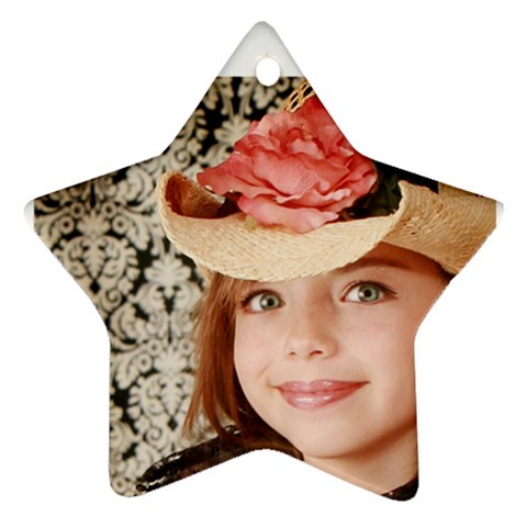 Maddie By Valeriemarie   Ornament (star)   10wahrkm79pv   Www Artscow Com Front