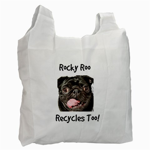 Rocky Recycling Bag By Chantel Reid Demeter   Recycle Bag (one Side)   7pe5wuc46to0   Www Artscow Com Front