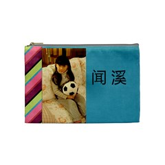 My Daughter s Pencil Case By Admin1   Cosmetic Bag (medium)   742mp8jfaoze   Www Artscow Com Front