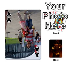 Ace Real Poker By Admin1   Playing Cards 54 Designs   Gdwn8dx79bmc   Www Artscow Com Front - SpadeA
