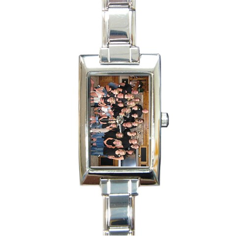 Mother s Watch By Amanda Peterson   Rectangle Italian Charm Watch   Hnlkdi7xe9xc   Www Artscow Com Front