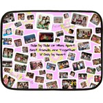 Madi Blanket with Frames/Words - Fleece Blanket (Mini)