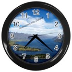 New Zealand Clock - Wall Clock (Black)