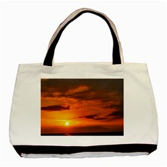 Sunset Tote By Ray   Basic Tote Bag (two Sides)   0wsso311hyia   Www Artscow Com Front
