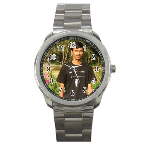 High Quality Customised Metal Watch By Prakash   Sport Metal Watch   P2a8idlu5fna   Www Artscow Com Front