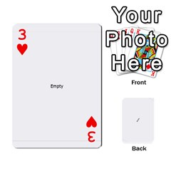 Double O Cards By Tammy   Playing Cards 54 Designs   N1qe2hxh3n1y   Www Artscow Com Front - Heart3
