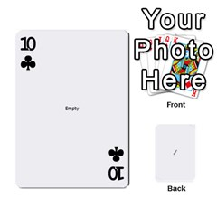 Double O Cards By Tammy   Playing Cards 54 Designs   N1qe2hxh3n1y   Www Artscow Com Front - Club10
