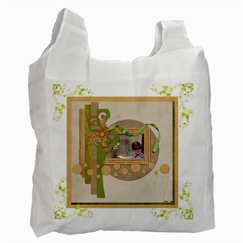 Key Lime Recycle Bag By Catvinnat   Recycle Bag (one Side)   4hya1kyktkhp   Www Artscow Com Front