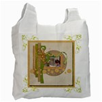 Key Lime Recycle Bag - Recycle Bag (One Side)