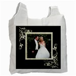 Bride & Groom recycle bag - Recycle Bag (One Side)