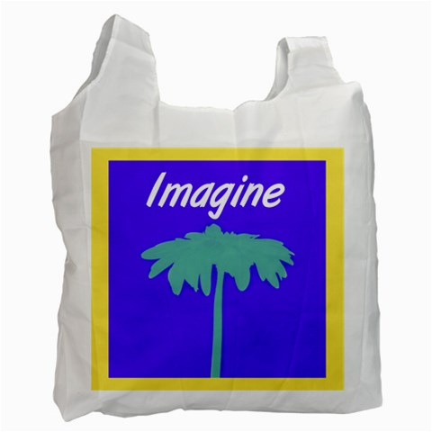 Imaginerecyclebag By Jennifer Sneed   Recycle Bag (one Side)   Io8efajou289   Www Artscow Com Front