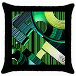 cojin1 - Throw Pillow Case (Black)