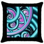 cojin - Throw Pillow Case (Black)