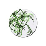 abstract Rubber Round Coaster (4 pack)