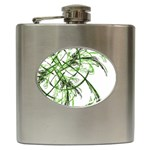 abstract Hip Flask (6 oz)