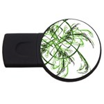 abstract USB Flash Drive Round (1 GB)
