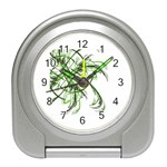 abstract Travel Alarm Clock