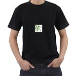 abstract Black T-Shirt (Two Sides)