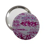 grafitti 2.25  Handbag Mirror