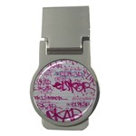 grafitti Money Clip (Round)