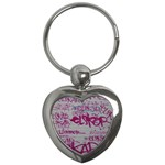 grafitti Key Chain (Heart)