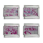 grafitti 9mm Italian Charm (4 pack)