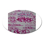 grafitti Magnet (Oval)