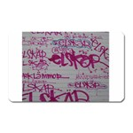 grafitti Magnet (Rectangular)