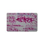 grafitti Magnet (Name Card)