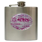 grafitti Hip Flask (6 oz)
