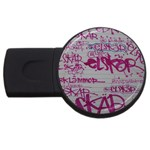 grafitti USB Flash Drive Round (2 GB)