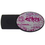 grafitti USB Flash Drive Oval (1 GB)