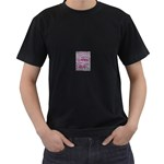 grafitti Black T-Shirt (Two Sides)