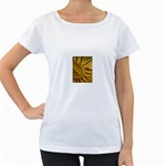 sun Maternity White T-Shirt