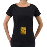 sun Maternity Black T-Shirt