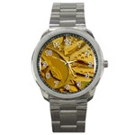 sun Sport Metal Watch
