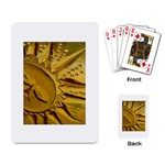 sun Playing Cards Single Design