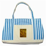 sun Striped Blue Tote Bag
