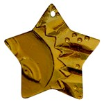 sun Star Ornament (Two Sides)