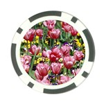 flowers Poker Chip Card Guard