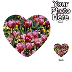 flowers Multi-purpose Cards (Heart)